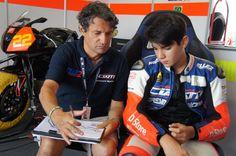 CIV Moto3 @ Misano 2014 - ROUND 7&8 - Ezio Gianola @ Work