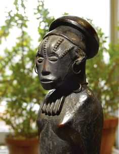 Ngbaka Statue of the Mythical Ancestor Seto, Democratic Republic of the Congo | lot | Sotheby's