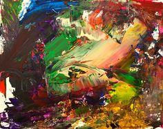 Unicorn #abstractexpressionism #modernart #abstractart #art #painting