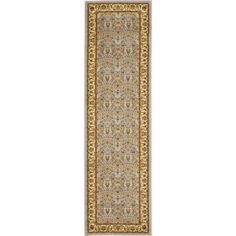 "Charlton Home Ottis Light Blue/Ivory Area Rug Rug Size: Runner 2'3"" x 6'"