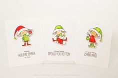 Elf Card and Tag Sets ~ Capture. Create. Inspire.