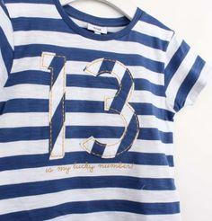 T-shirt tie dye stripes
