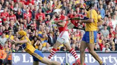 Cork v Clare All Ireland Hurling final 2013 Pa Cronin finds the back of the net for the Rebels