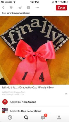 Cap decorations for graduation  sc 1 st  Pinterest & 50 Awesome Graduation Cap Decoration Ideas http://hative.com ...