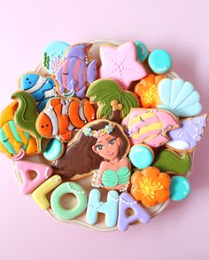 MOANA cookies disney princess