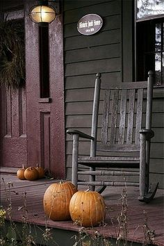 I want a porch with a rocking chair and a tin roof.