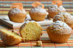 Muffin morbidi di carote e nocciole Piemonte