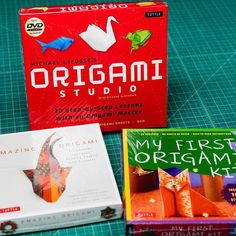 Origami kits are now in stock! Something fun to do on those rainy days. #origami #artsupplies #origamiart