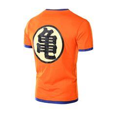 ba24bf8eef07 Dragon Ball Shirt 2016 Summer Swag Men T-shirt Camisetas Anime Men Cartoon  Super Saiyan Tops T shirt Men Funny