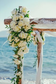 Ethereal Greek wedding details: http://www.stylemepretty.com/2016/03/14/20-images-that-will-leave-you-wanting-a-wedding-in-greece/
