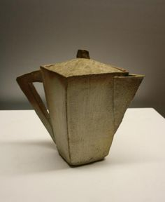 Vintage Ceramic Collection - Mark Pharis, slab teapot