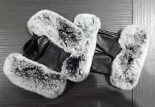 DAMEN flauschige WINTER-Handschuhe Kaninfell echtes FELL Leder-handschuhe Herbst: EUR 39,95End Date: 16. Mrz. 21:26Buy It Now for only: US…