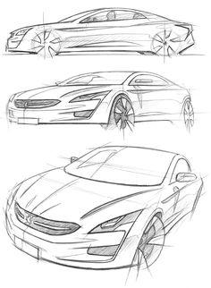 Peugeot, Sketch by Julien FESQUET / ISD