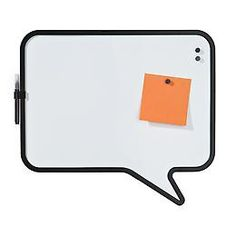The Container Store > Talk Bubble Magnetic Board by Umbra®