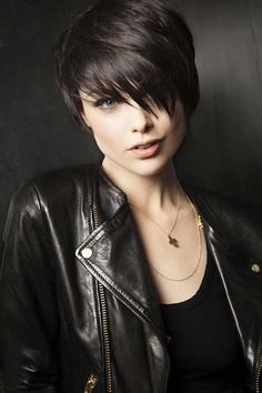 Think of Judy when considering this. Popular Cute Short Haircuts for Thick Hair