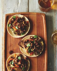 Cauliflower and Oyster Mushroom Tacos from Food52 Vegan
