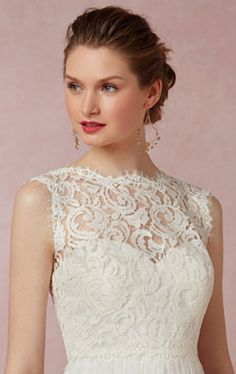 sweet white lace topper