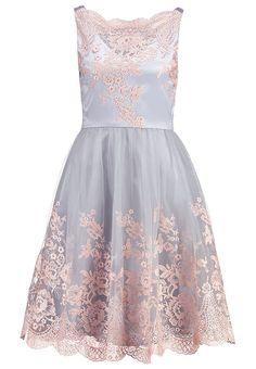 Chi Chi London RYLEE - Cocktailkleid / festliches Kleid - blue - Zalando.de