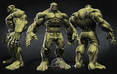 Hulk Concept Art   Creative Commons Attribution-Noncommercial-No Derivative Works 3.0 ...