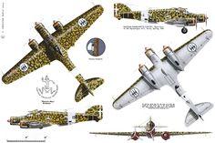 Savoia Marchetti SM 79 II Sparviero (1941) Passenger Aircraft, Ww2 Aircraft, Fighter Aircraft, Military Aircraft, Italian Air Force, Italian Army, Reggio, Fighting Plane, Ww2 Planes
