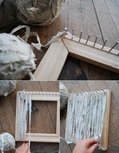 Poppytalk - The beautiful, the decayed and the handmade: DIY With Bookhou: Woven Trivet    Maybe with old jeans??