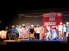 Talent Show: Shark Attack Grade 1... so adorable!! What a great idea to do as a class!