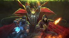 Scorpion Mortal Kombat, Mortal Combat, Spawn, Dark Ages, Batman, Superhero, Zero, Fictional Characters, Google Search