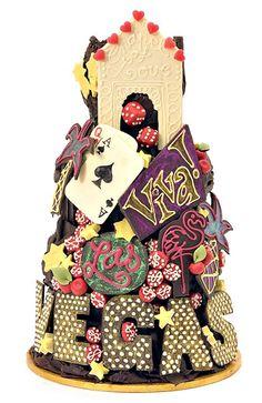 Wedding cakes las vegas themed wedding cakes las vegas cakes and cupcakes. Vegas Themed Wedding, Themed Wedding Cakes, Las Vegas Weddings, Wedding Cupcakes, Pretty Cakes, Beautiful Cakes, Amazing Cakes, Beautiful Things, Unusual Wedding Cakes