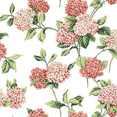 Thibaut Hydrangea.  Dying to use this fabric in our guest room.