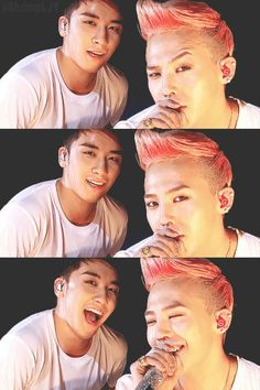 Seungri and G-Dragon <3 Uff These men are fine! ;) :**** #BIGBANG #Sexy #EyeCandy