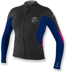 316ee2f4b6b6e Stay out longer and have more fun in the women s O Neill Bahia Full-Zip  Jacket.