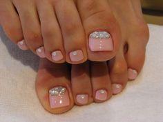 Pink summer 2014 toes toenails nails