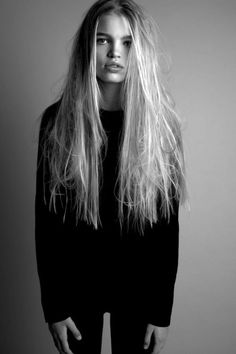 Messy Hair. @thecoveteur