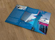 Trifold business brochure-V38 by Template Shop on @creativework247