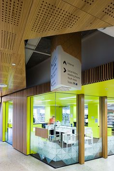 HASSELL | Projects - Murray Bridge Library Staff Returns Area