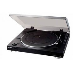 Discover the USB Turntable from Sony & explore all the Audio Components features. Best Record Player, Record Players, Sony, Stereo Turntable, Retail Websites, Audio Studio, Software, Buy Vinyl, Belt Drive