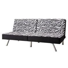 Zebra print couch