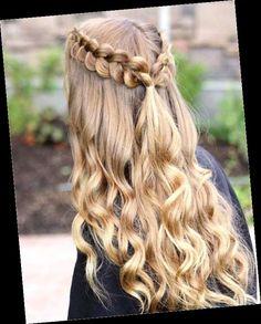 Cute Hairstyles For Teens, Cute Simple Hairstyles, Cute Hairstyles For Medium Hair, Easy Hairstyles For Long Hair, Winter Hairstyles, Medium Hair Styles, Curly Hair Styles, Cool Hairstyles, Hairstyle Short