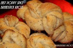 My newest sweet treat recipe... Poppy Spice Breadstick Knots #TalkingFreebies