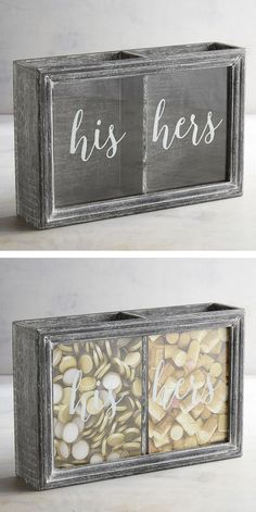 A little bit fruity, a little bit oaky? No matter your taste, Pier 1's wine cork holder with his and hers compartments is a great way to capture memories of special occasions like anniversaries, holidays and time spent with family and friends. Register one for yourself at the Pier 1 Imports Gift Registry, powered by myregistry.com.