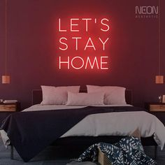 Brought to you as compliments of COVID-19 - this sign has been getting high scores on social media and we can see why! Neon Sign Shop, Shop Signs, Neon Home Decor, The Heat, Neon Girl, Light Quotes, Lets Stay Home, Chasing Dreams, Neon Aesthetic