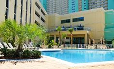 Stay at Emerald Beach Resort in Panama City Beach, FL. Dates into July.