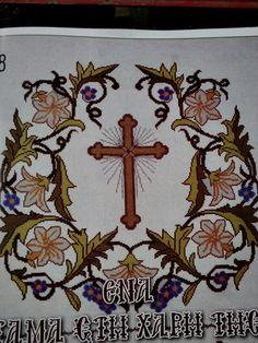 Νο 30 Catholic, Charlotte, Easter, Symbols, Embroidery, Art, Cross Stitch, Gold Embroidery, Art Background