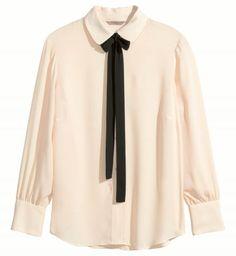 H&M automne hiver 2015-2016 : une blouse