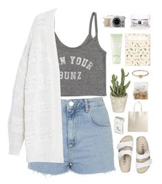 """""""Untitled #456"""" by amy-lopez-cxxi ❤ liked on Polyvore featuring Topshop, Billabong, Violeta by Mango, Birkenstock, Rochas, Dunhill, Carven and Catbird"""