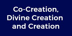 Understanding Co-Creation, Divine Creation and Creation explains a lot about our world and supports us in our return to who we truly are. Open Letter, Our World, Magic, Words, Horse