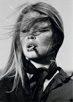 #BrigitteBardot by #TerryONeill -- #BowTie