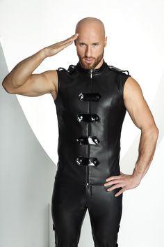 Noir Handmade Stronger Men Weste H031 www.lingerie4me.de/Fuer-Ihn/Clubwear/Noir-Handmade-Stronger-Men-Weste-H031-schwarz::2519.html #Clubwear # Erotikwäsche #Noirhandmade #Lingerie4me
