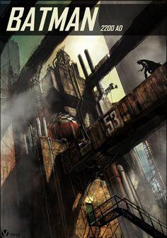 Batman 2200 AD - Vincent Proce