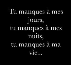 Tu me manques ♥️😔♥️😔 New Quotes, Family Quotes, Love Quotes, Motivational Quotes, Funny Quotes, Good Heart Quotes, Morning Greetings Quotes, Quote Citation, French Quotes